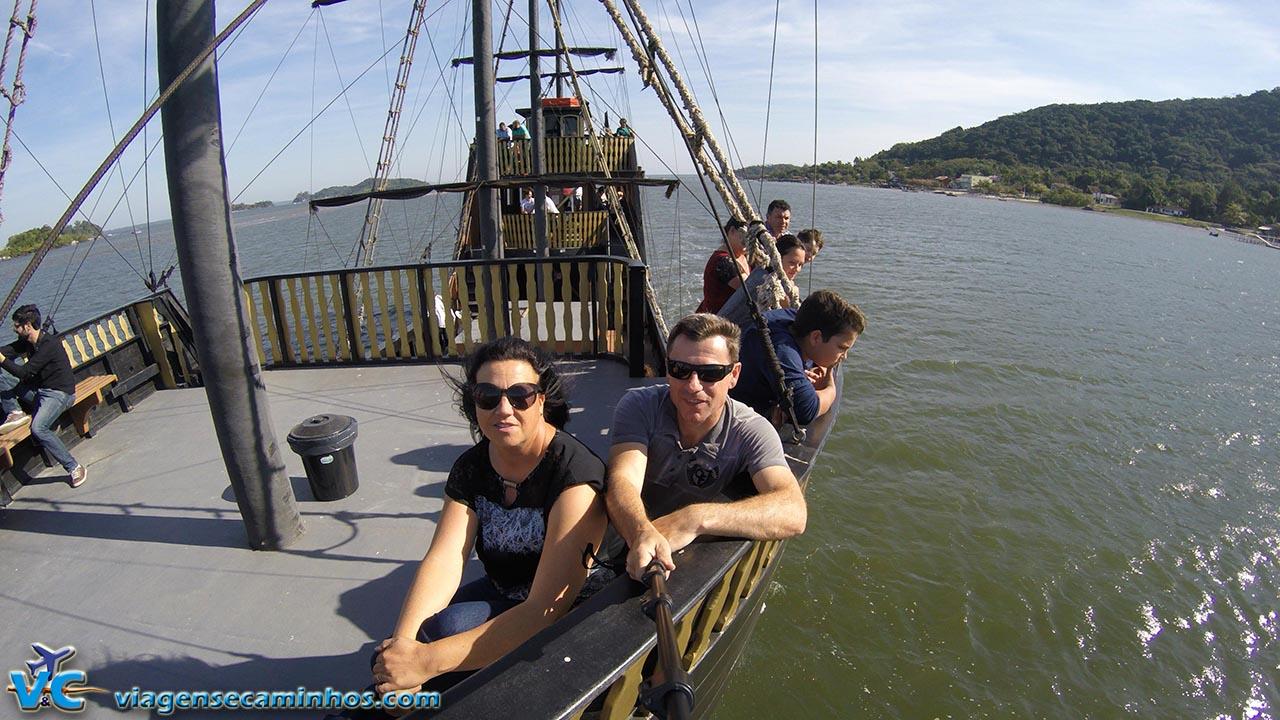 Passeio de barco São Francisco do Sul