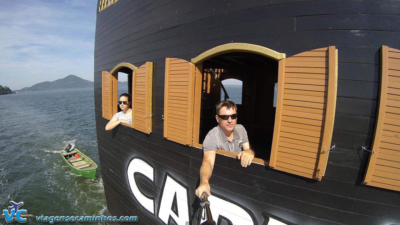 Passeio de barco na Baía de Bapitonga - São Francisco do Sul