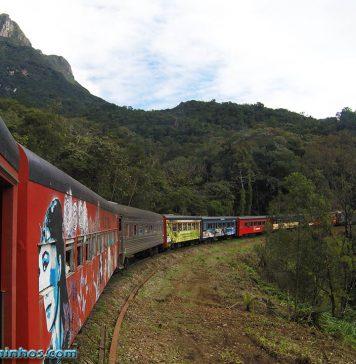 Passeio de trem mais bonito do Brasil - Trem da Serra do Mar Paranaense