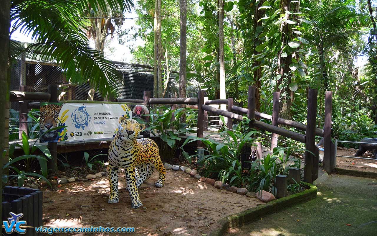 Zoo Balneário Camboriú - Parque Cyro Gevaerd - Santur