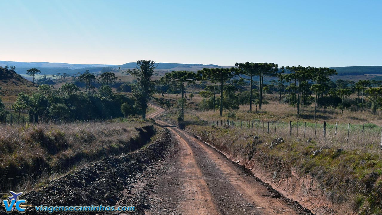 Estrada do Passo do S - Jaquirana