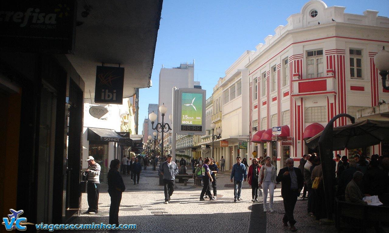 Florianópolis - Calçadão do Centro Histórico