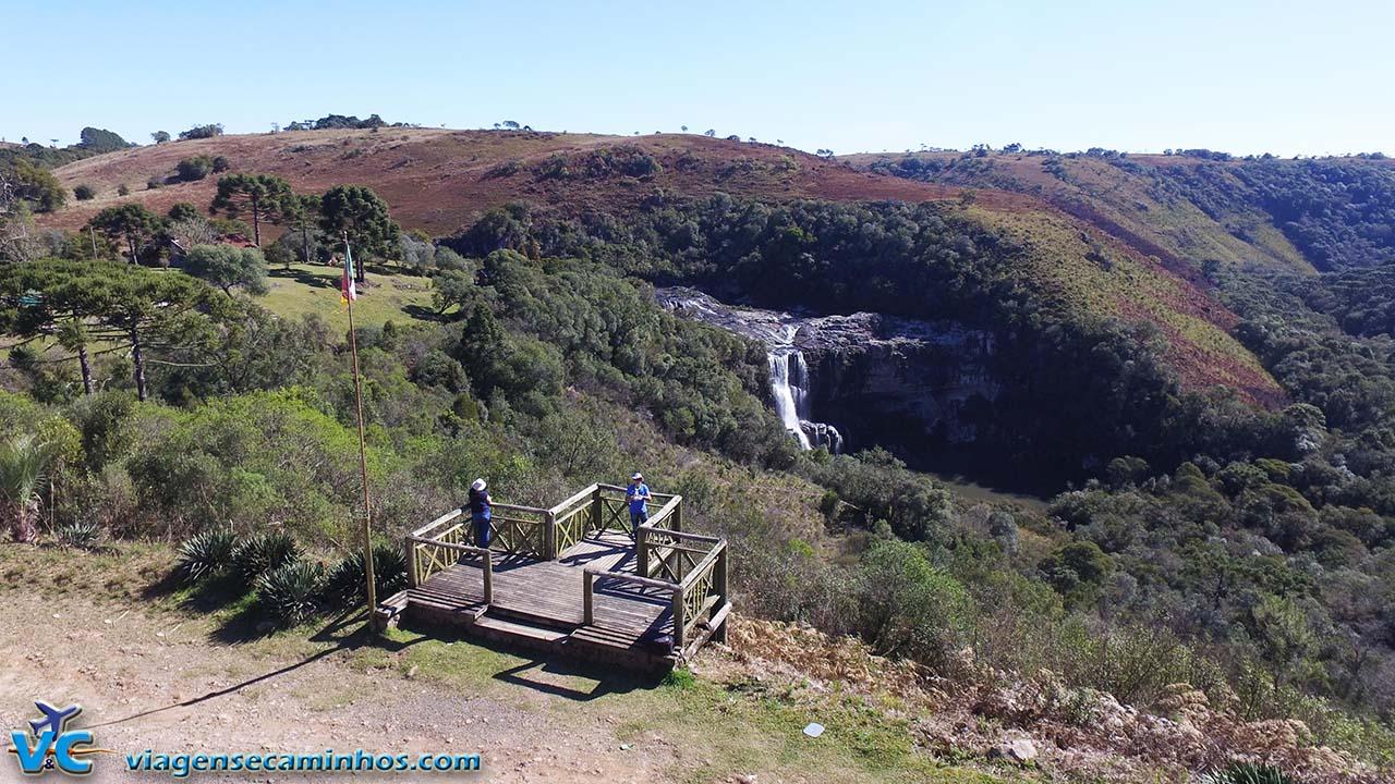 Mirante Cachoeira Princesa dos Campos