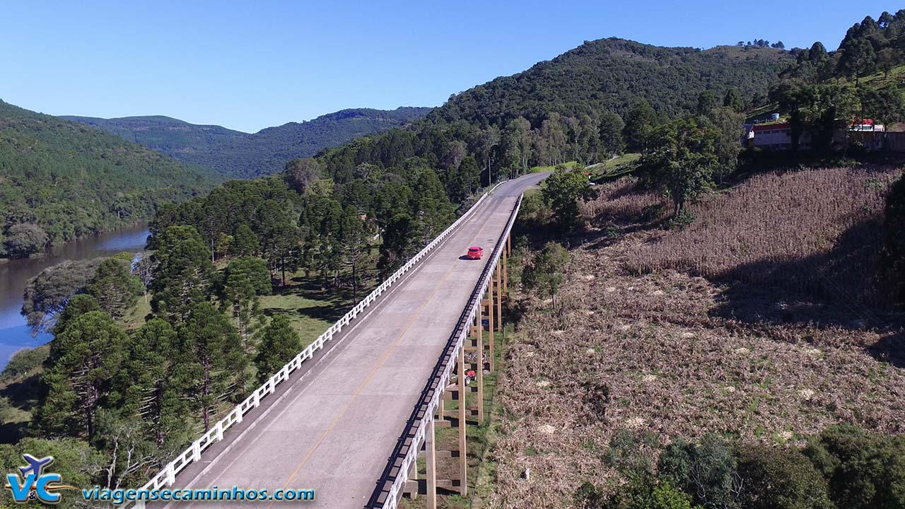 Ponte do Rio das Antas - Bom Jesus - RS-110