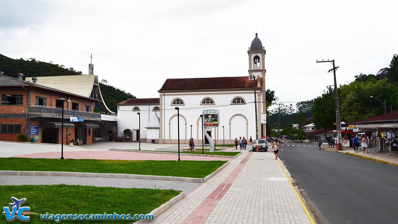 Igreja original Santuário Madre Paulina