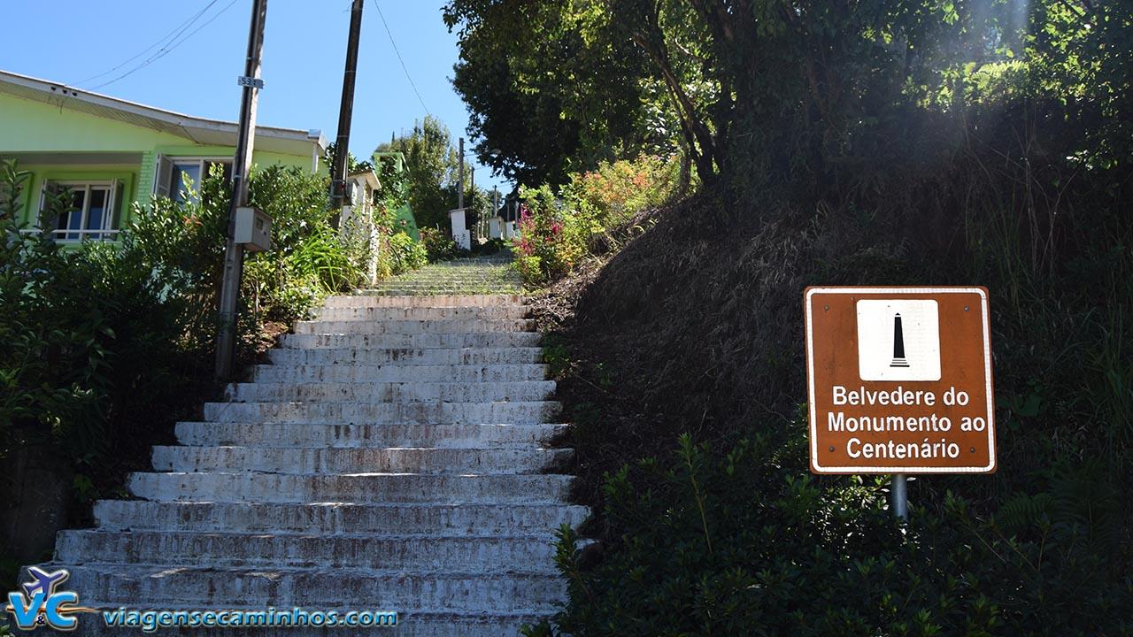 Belvedere Monumento ao Imigrante - Otávio Rocha