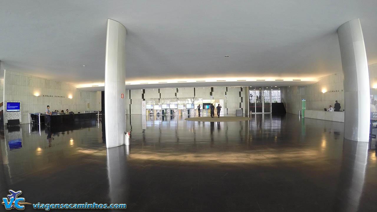 Salão Negro, na entrada Congresso Nacional