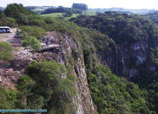 Mirante Gelain e Cascata Bordin - Flores da Cunha