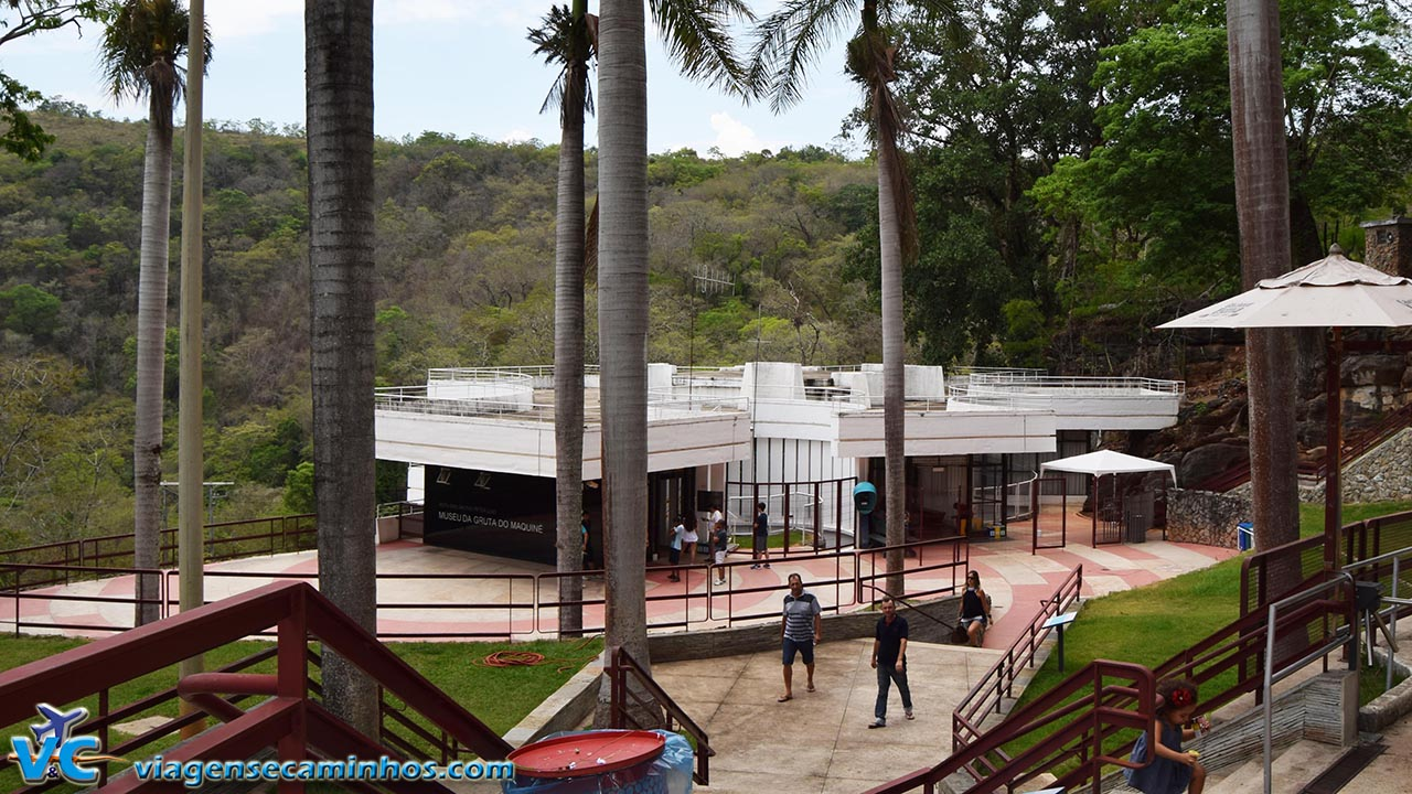 Gruta do Maquiné - Centro de visitantes
