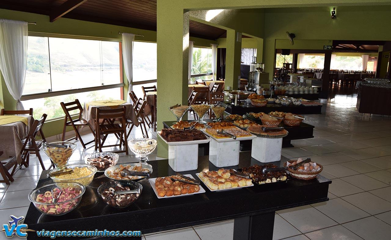 Hotel Balneário do Lago - Café da manhã