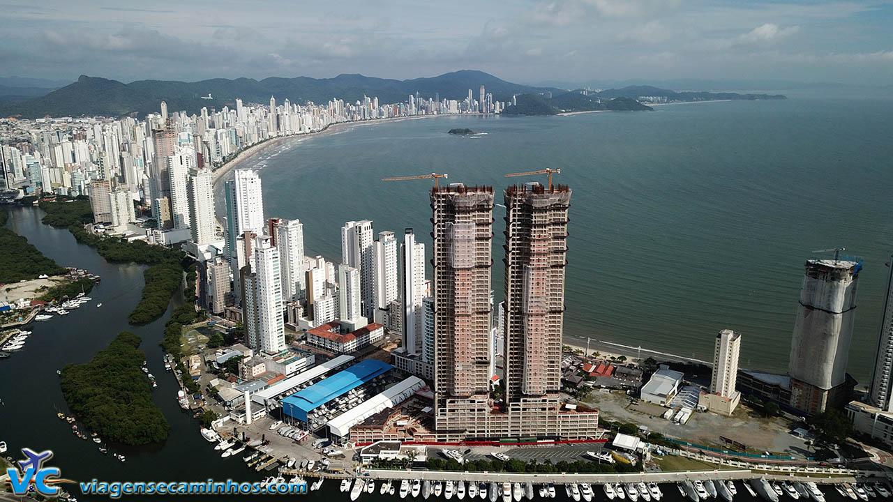 As torres gêmeas mais altas do Brasil