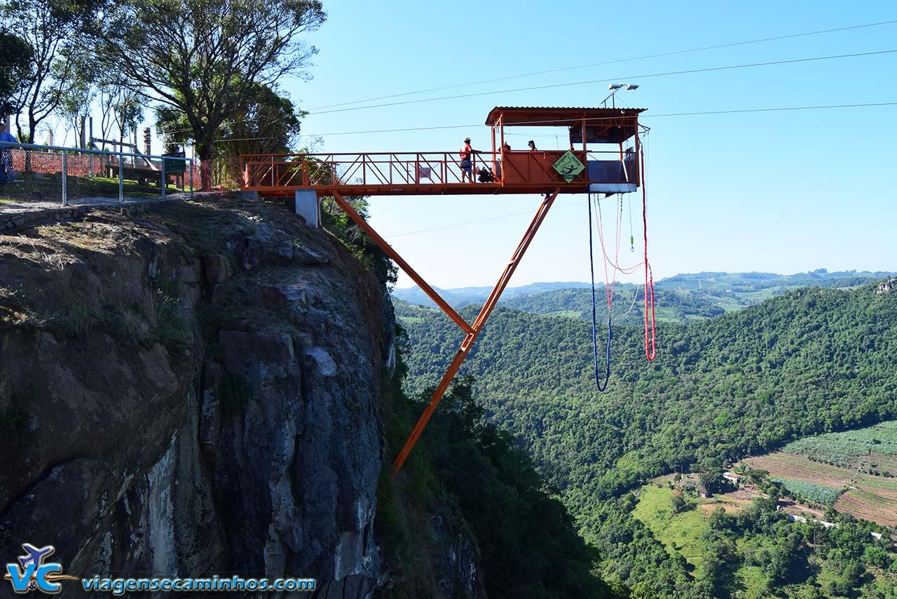Bungee Jump - Parque de Aventuras Gasper