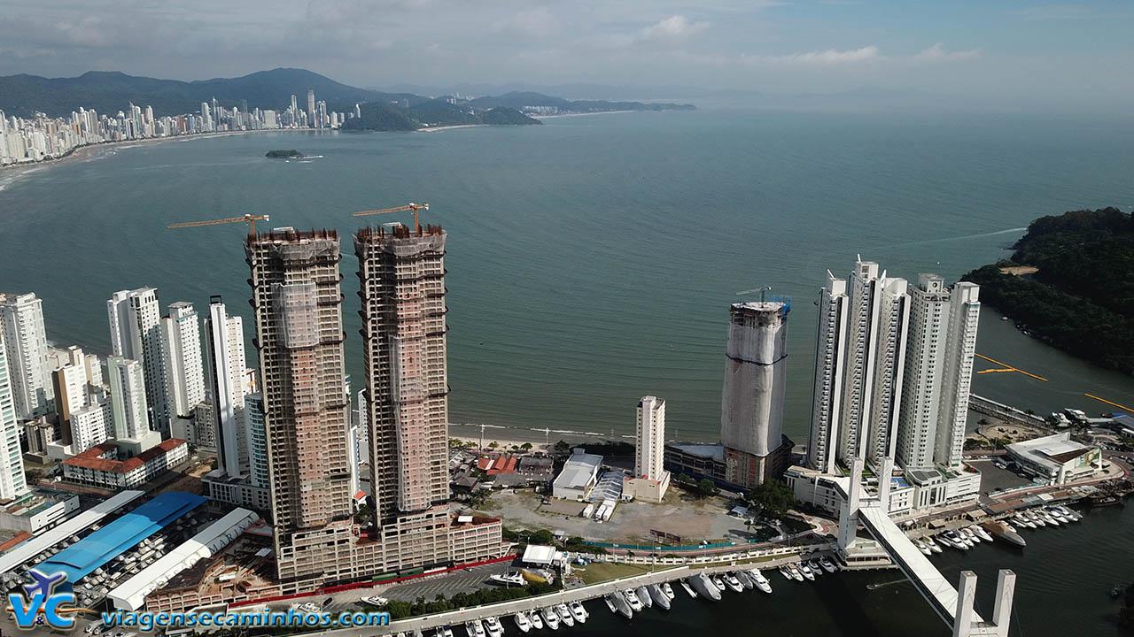 Torres gêmeas mais altas da América Latina