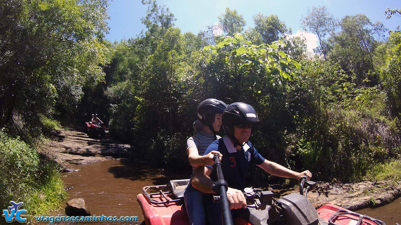 Trilha de quadriciclo - Parque Gasper