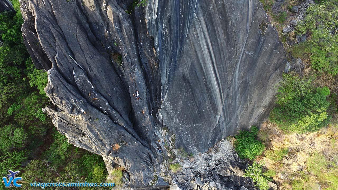Escalada na Serra do Cipó