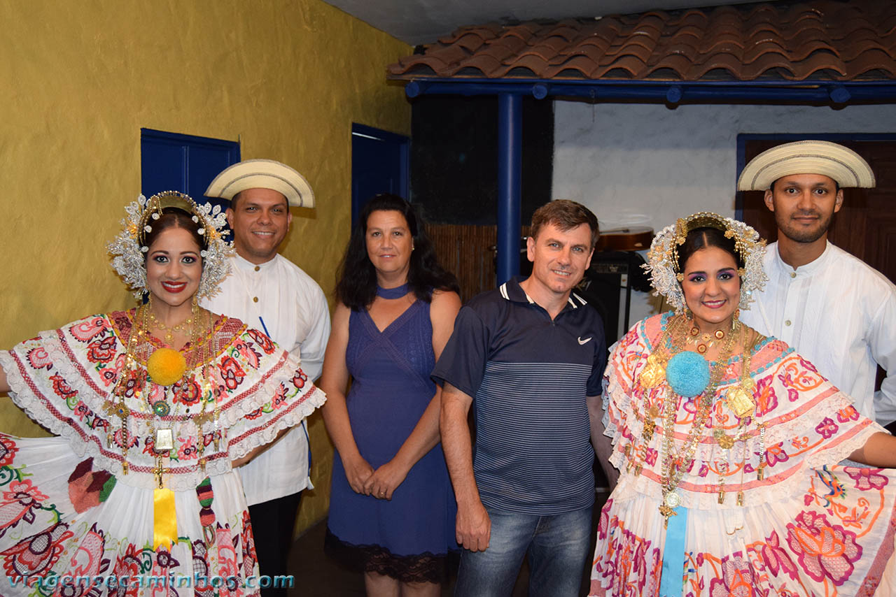 Dança típica Panamenha