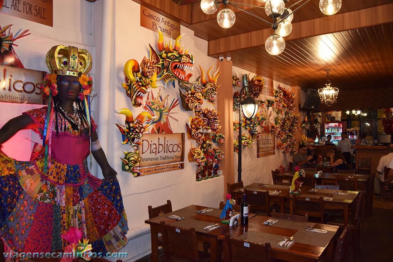 Restaurante Diablicos - Panamá