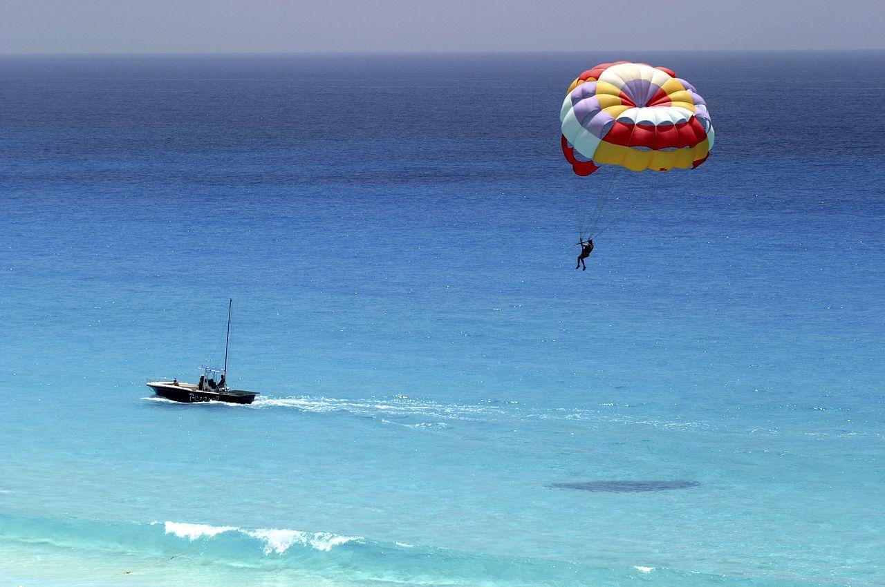 Parasailing em Punta Cana
