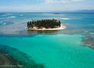 Arquipélago de San Blas - Vista aérea