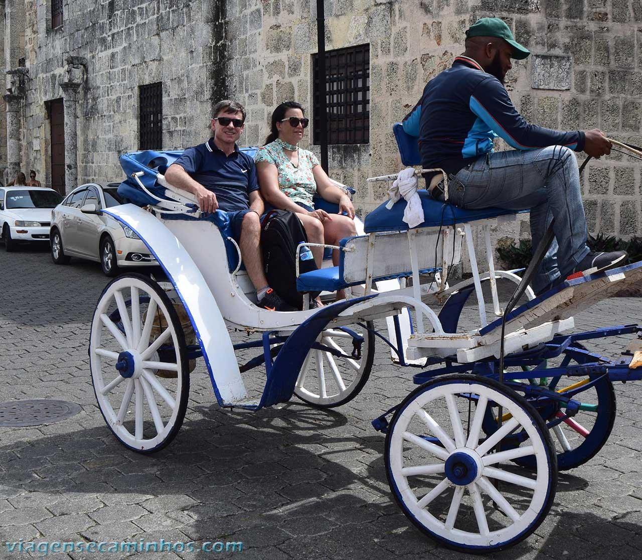 Charrete na Zona Colonial de Santo Domingo
