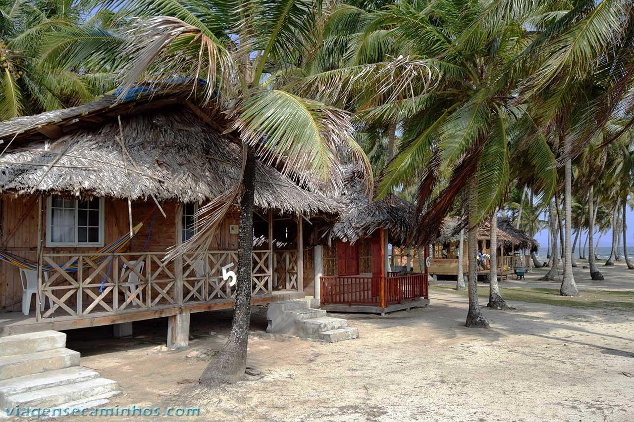 Hospedagem Isla Aguja Icodub - San Blas