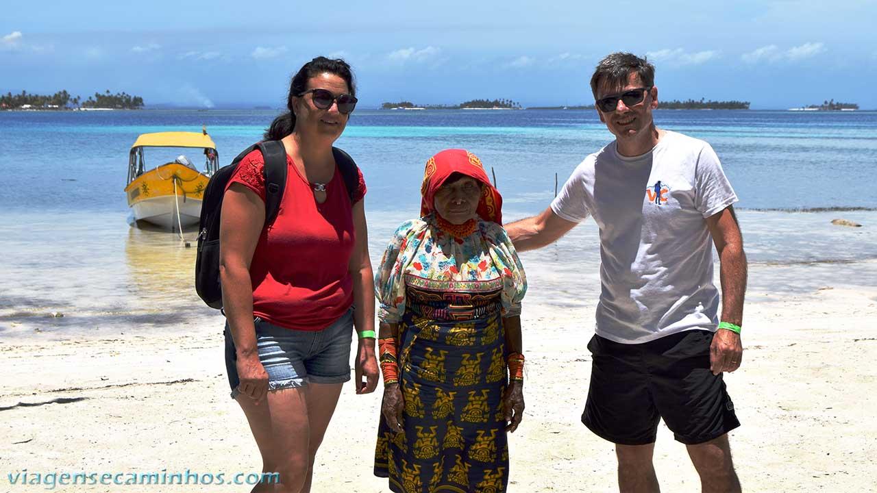 Índia Kuna Yala - San Blas - Panamá