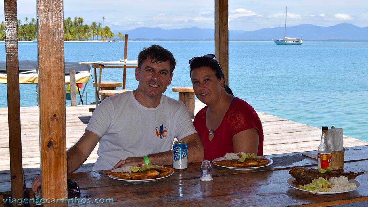 Onde comer em San Blas