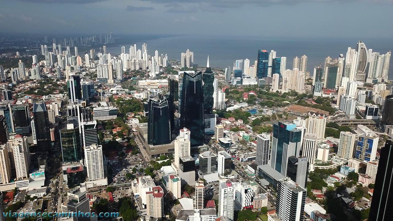 Vista aérea Panamá city