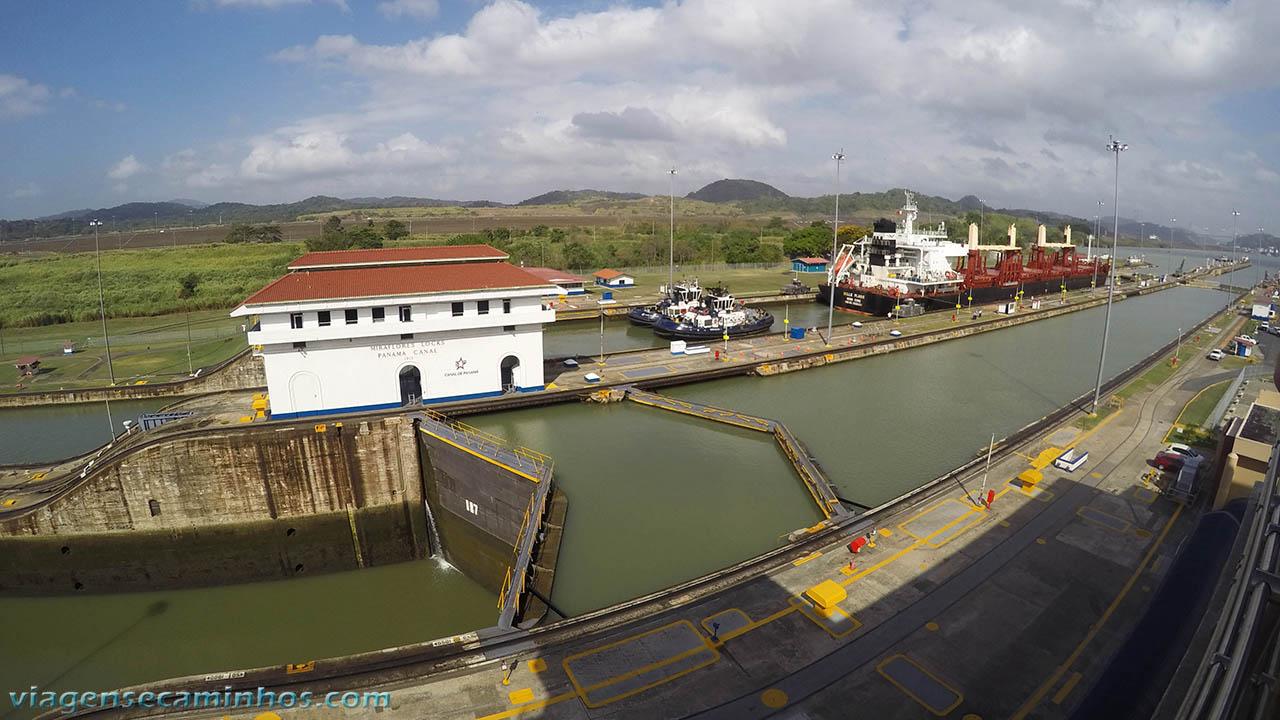 Canal do Panamá - Eclusa de Miraflores