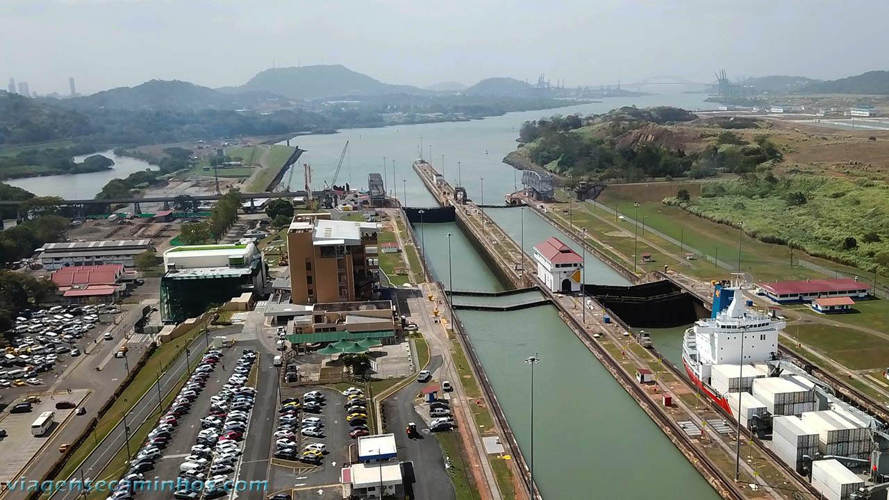 Canal do Panamá - Miraflores