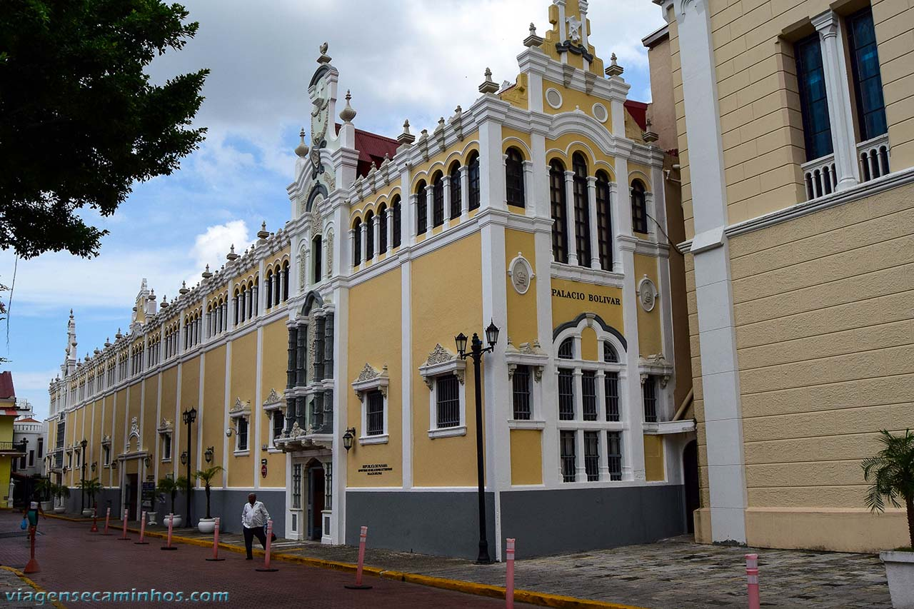 Palácio Bolivar - Casco Viejo - Panamá