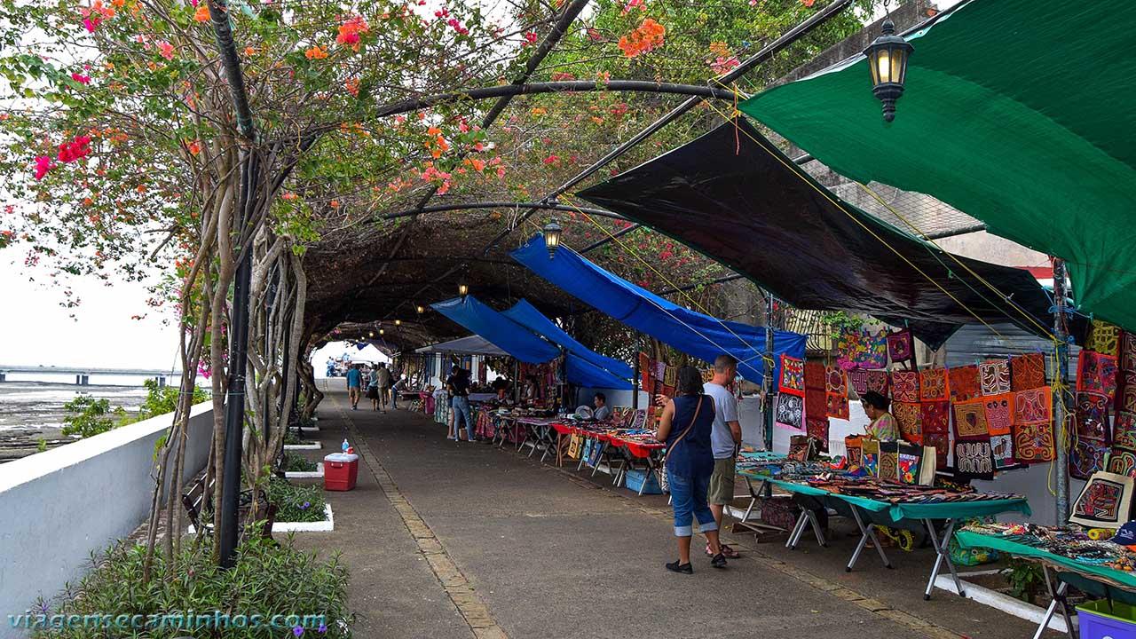 Paseo de las Veraneras - centro histórico da cidade do Panamá