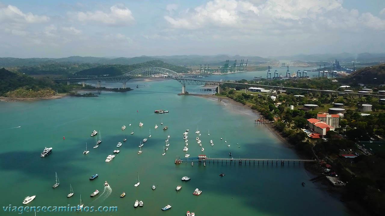 Ponte de Las Américas e Canal do Panamá