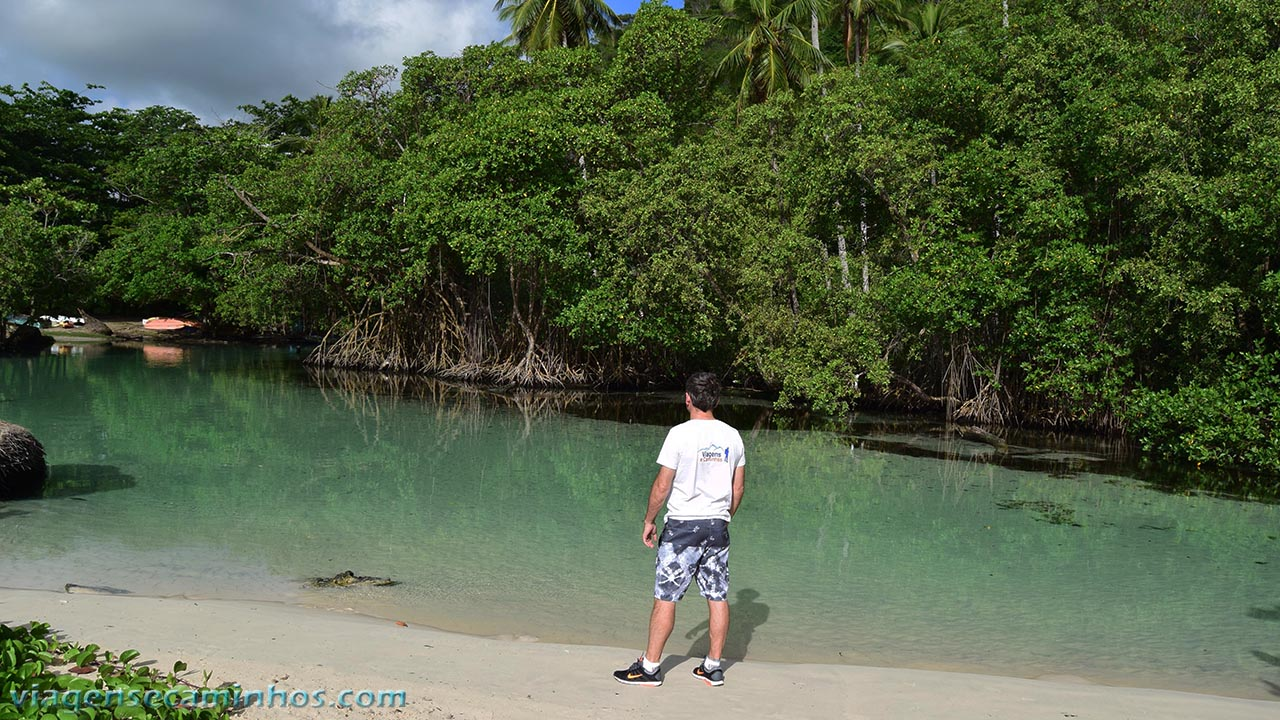 Rio Caño Frio - Praia Rincon - Samaná
