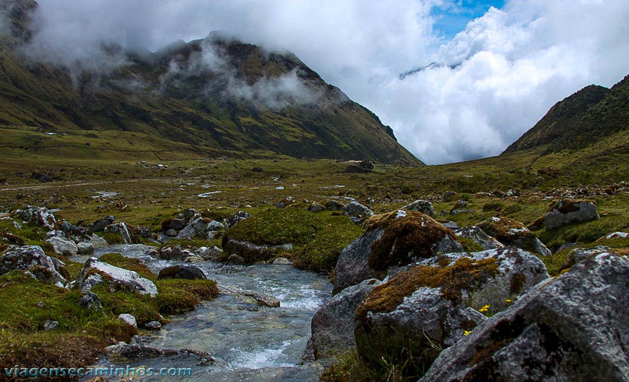 Rio na Trilha Inca