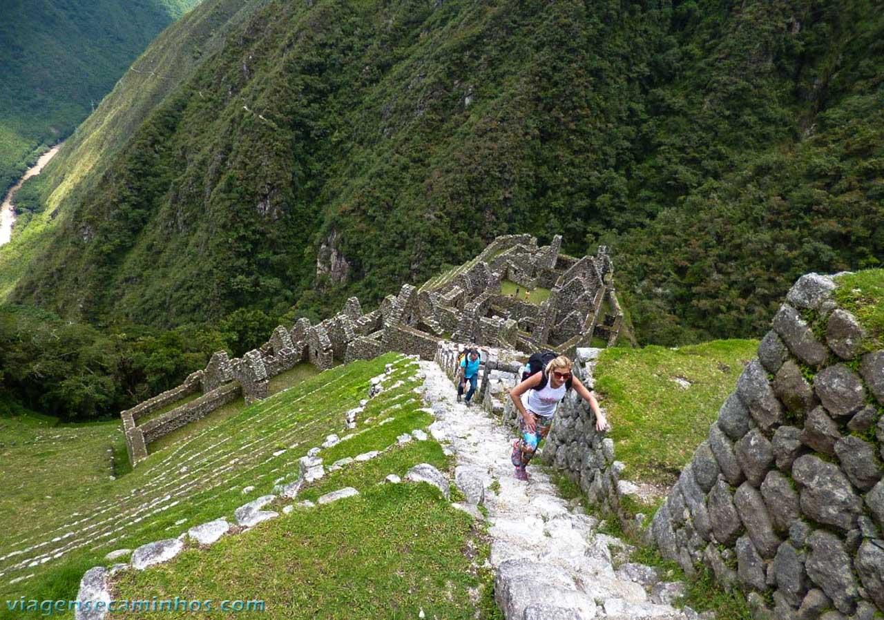 Trilha Inca - Sítio arqueológico de Wiñaywayna