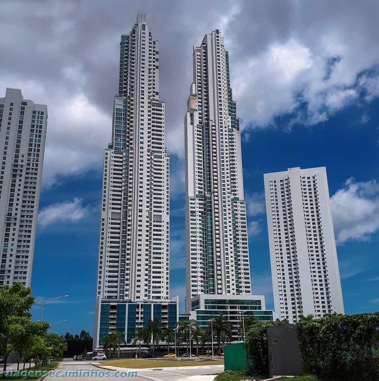 Vitri tower e Ocean Two - Panamá