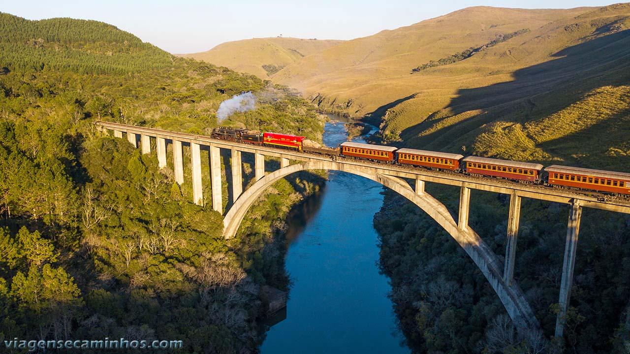 Ponte ferroviário Rio Pelotinhas - Santa Catarina