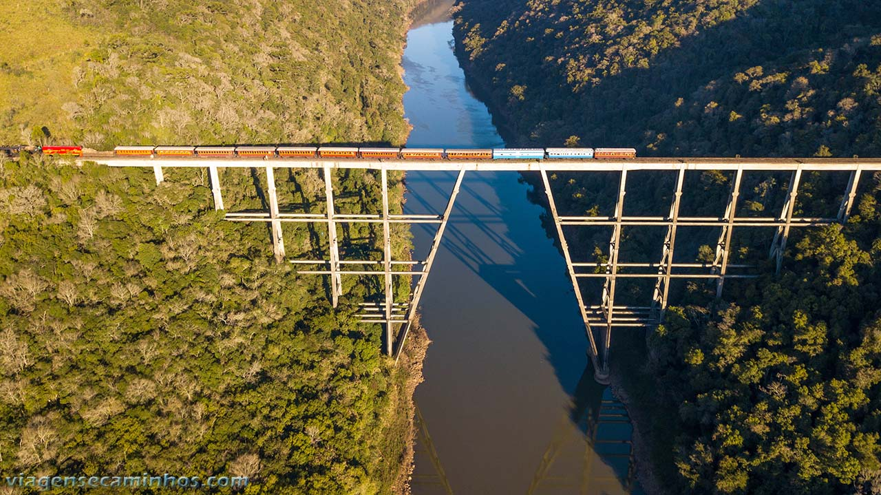Ponte trem Rio Pelotas - Vacaria