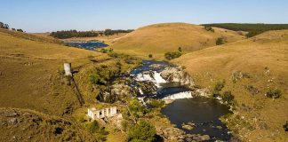 Barragem Rio dos Touros e Cachoeira da Usina