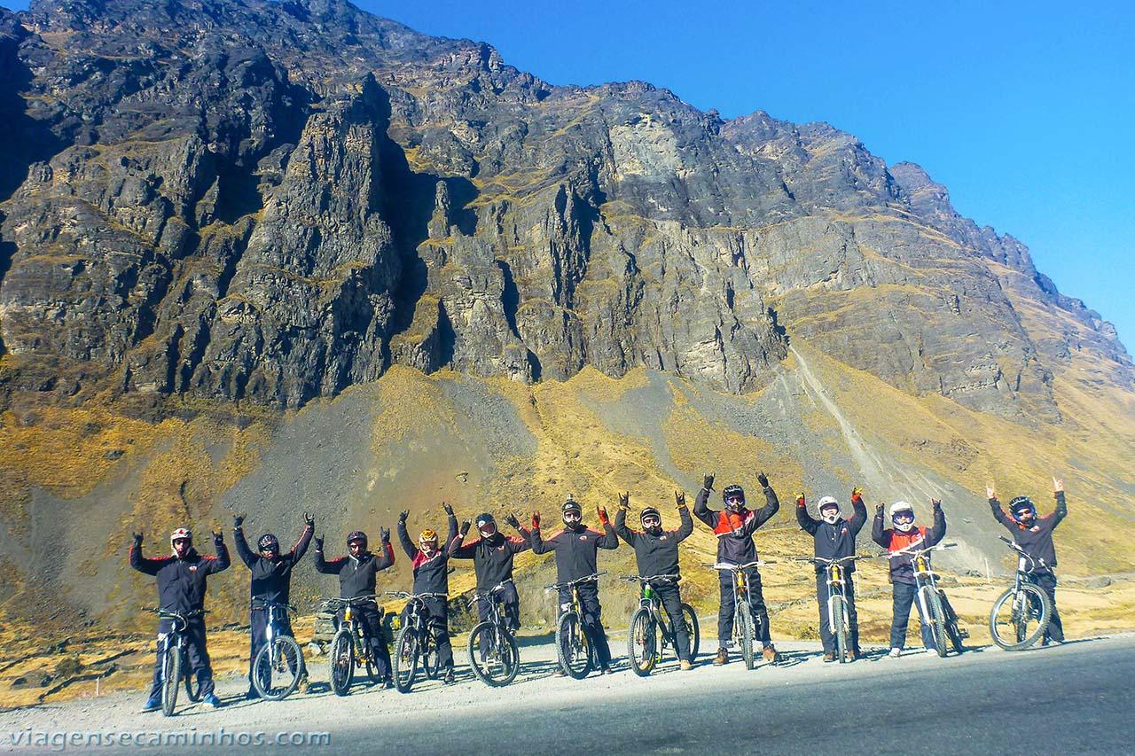 Bolívia - Downhill estrada da Morte