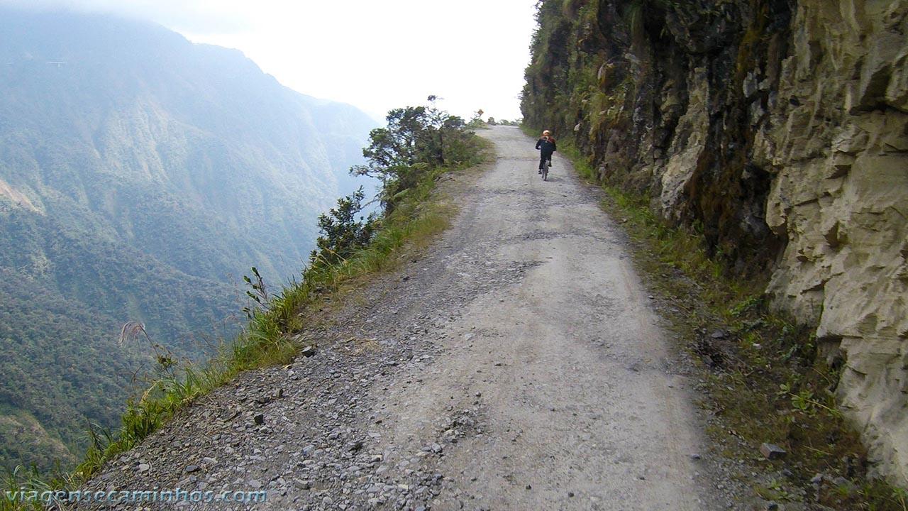 Downhill Estrada da Morte - Bolívia