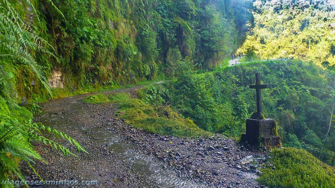 Estrada yungas - Bolívia