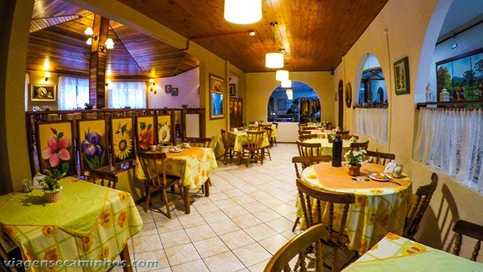 Urubici park hotel - Área do café