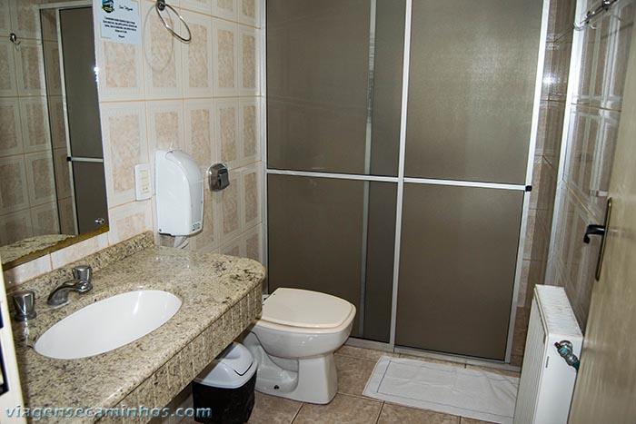 Urubici park hotel - banheiro