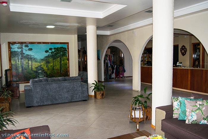 Urubici park hotel - recepção