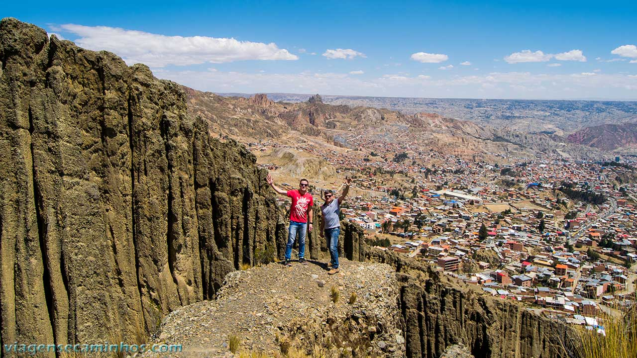 Valle de Las Ánimas - vista de La Paz
