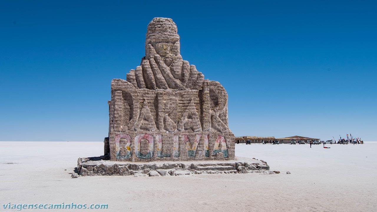 Monumento Dakar - Salar de Uyuni
