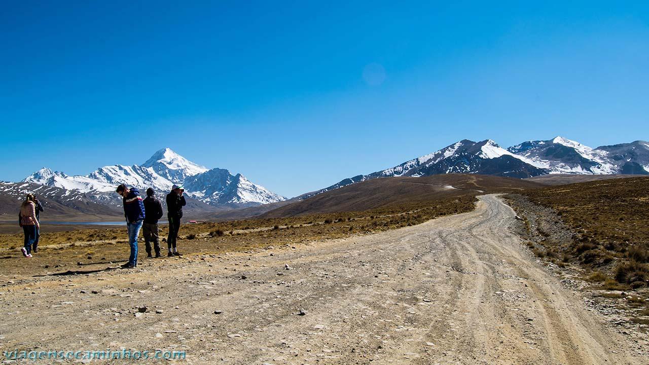 Estrada Monte Chacaltaya - Bolívia