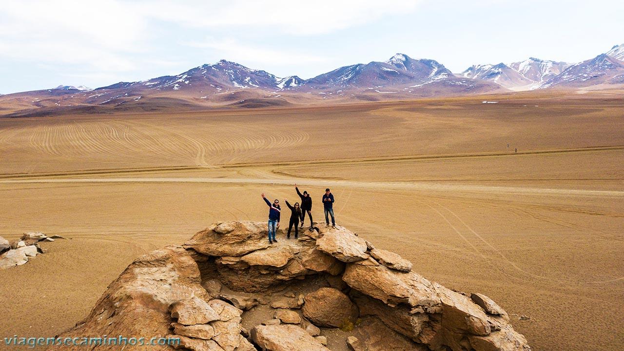 Excursão pelo deserto da Bolívia